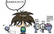 关于血型的最新可爱漫画【1】