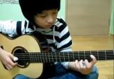 11岁少年吉他版《加勒比海盗》,听到心跳加速有木有 !!!