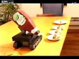 如此喜感的挤番茄酱机器人你见过吗?